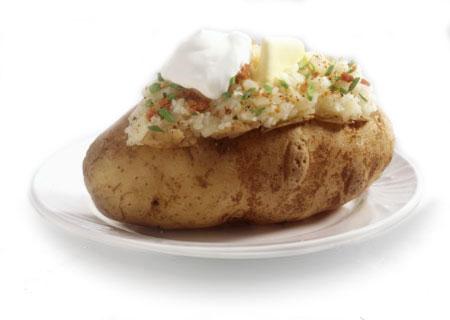 1 Jacket Potato and Sour Cream